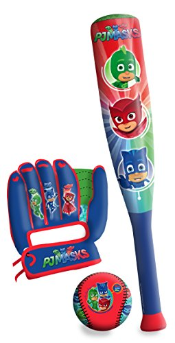 PJ Masks - Set de béisbol (Amijoc Toys 7495)