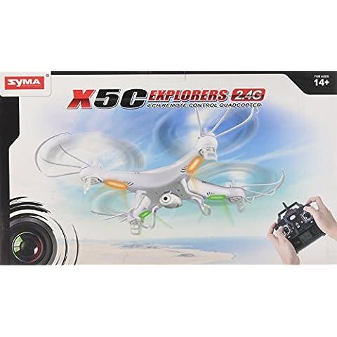 Syma X5C Explorers quadricottero VIDEOCAMERA 2.0MP HD 2.4G 4CH RTF 6 assi - Distanza Sistema