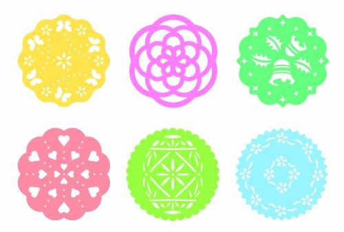 Tescoma-630676-Delicia-Dischi-Decorativi-per-Torte-6-Pezzi