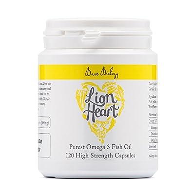 Bare Biology Lion Heart Purest Omega 3 Soft Gel Capsules - (Pack of 120) by BARE BIOLOGY LTD