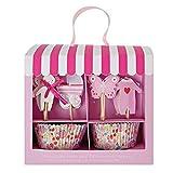 6x Meri Meri Baby-Shop Rosa Kleine Kuchen Satz 24 Pro Packung