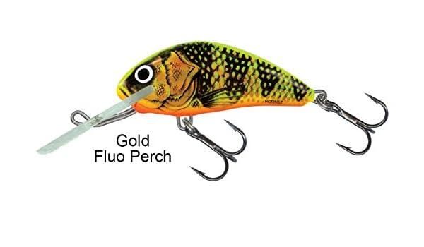 Salmo Rattlin Hornet Wobbler Gold Fluo Perch GFP