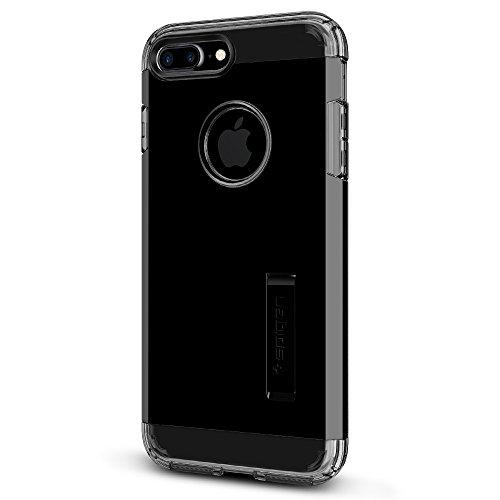 Coque iPhone 7 Plus, Spigen® [Tough Armor] HEAVY DUTY [Noir] EXTREME Protection / Rugged but Slim Dual Layer Protective Housse Etui Coque Pour iPhone 7 Plus (2016) - (043CS20531) TA Noir de jais
