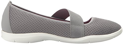 Crocs Swiftwater Flat W Navy/whi, Ballerines femme Smoke/White