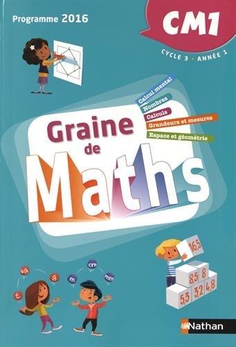 Graine de Maths CM1 par Joël Malaval