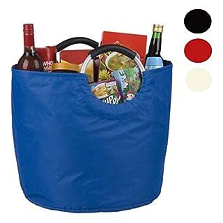 Smartweb 2er Set XL Einkaufstasche je 49 Volumen Einkaufskorb Transporttasche Stoffbeutel Shopper Tasche Korb