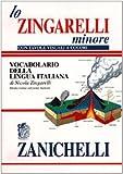 Lo Zingarelli minore. Vocabolario della lingua italiana. Con tavole visuali a colori