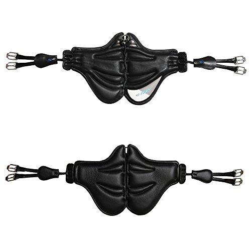 Stübben Stollenschutzgurt Freedom - schwarz - 140cm