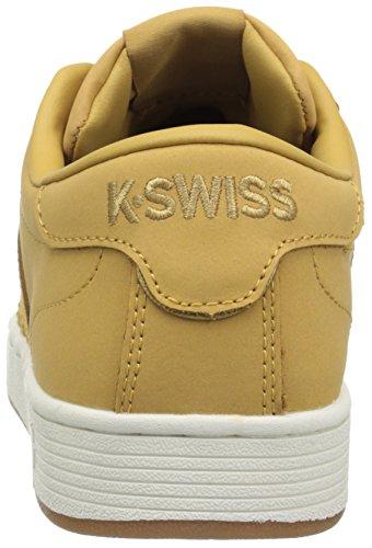 K-Swiss Hoke CMF Low Leder Sportliche Turnschuh Amber Gold/Marshmallow
