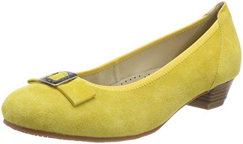 HIRSCHKOGEL 1004504, Zapatos de Tacón con Punta Cerrada para Mujer, Azul (Jeans 274), 41 EU