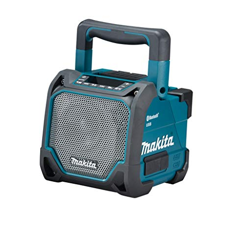 Makita Radio Speaker Portatile da Cantiere Bluetooth e USB DMR202