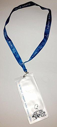 NFL Football Super Bowl 2014 Sammler Schlüsselband Tickethülle Tickettasche Ticketband Lanyard