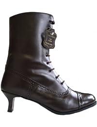 PoiLei Aida Damen Schuhe exklusive Budapester Plateau