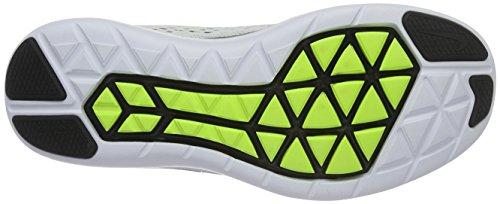 Nike Flex 2016 Rn, Chaussures de Running Entrainement Homme Blanc (White/Volt Black)