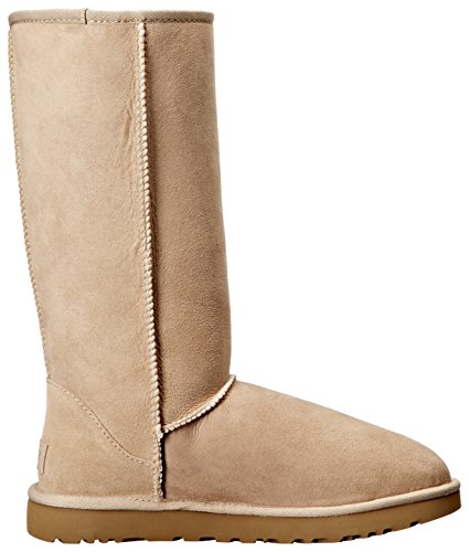 Ugg Australia Womens Classic Tall ll Sheepskin twinsole and suede Boots Brown