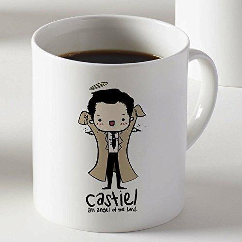 Supernatural Castiel Angelo del Signore Caffè Tazza Due Lati