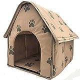 Hund Haus Katze Bett Für Kleine Hunde Und Katzen Tragbare Pet House,47 * 49 * 49CM