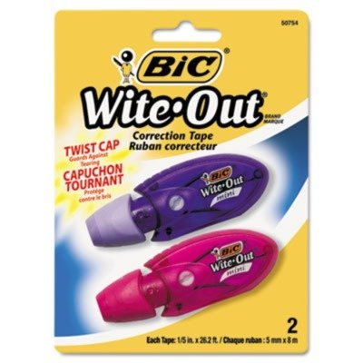 bic-corporation-products-correction-tape-mini-1-2x262-2-pk-white-sold-as-1-pk-wite-out-mini-twist-co