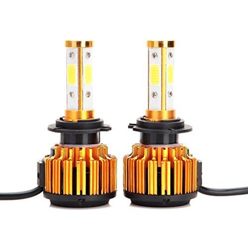 Crdz H7LED Headlight Bulbs 8000LM 60W bianco freddo 6000K sostituire anabbagliante/abbagliante/Fog Light 360gradi 4side COB chips super Bright auto kit di conversione