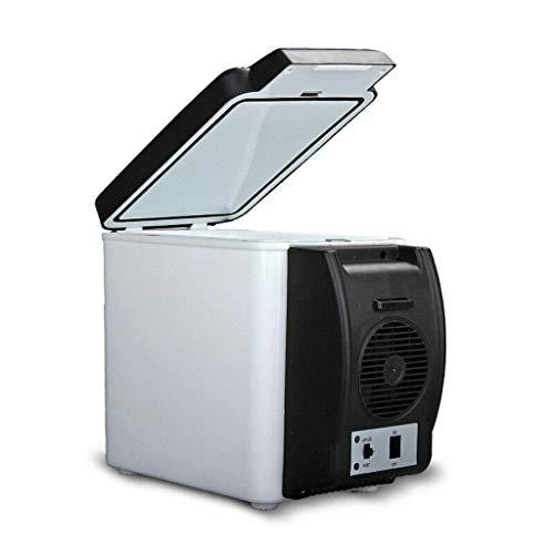 LMDC 6 L Dual-Cooling-Kühlschrank fürs Auto, Mini-Kühlschrank, Dual-Use-Kühlschrank fürs Auto (32,5 * 18 * 27 cm)