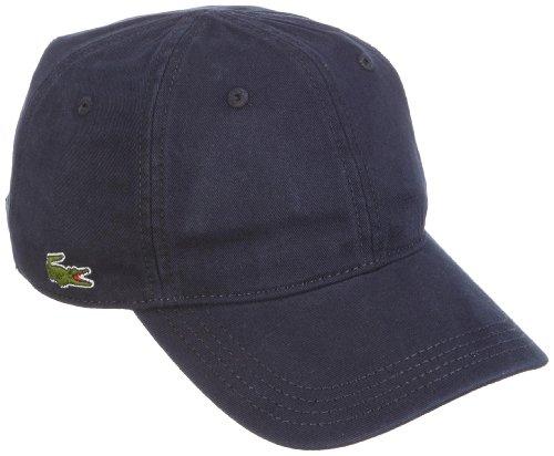 Lacoste Unisex RK9811 Baseball Cap, Blau (Marine), One Size (Herstellergröße: TU)