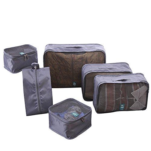 Kvolity Viaggi Imballaggio Cubi 6 set di