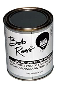 Bob Ross White Magicc Paint