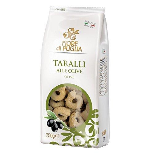 Fiore di Puglia Taralli 250Gr Alle Olive