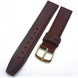 Herzog Durable Klasik - Matte Honey 18 mm Watch Strap