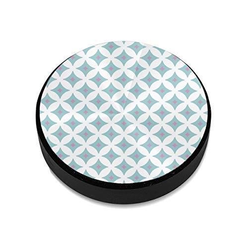 Liuzhis Abstraktes Retro- geometrisches nahtloses Muster Magnethalterung für Mobiltelefone Magnetischer Autohalter Handyhalter