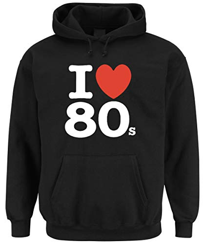 Certified Freak Love 80s Hooded-Sweater Black XL