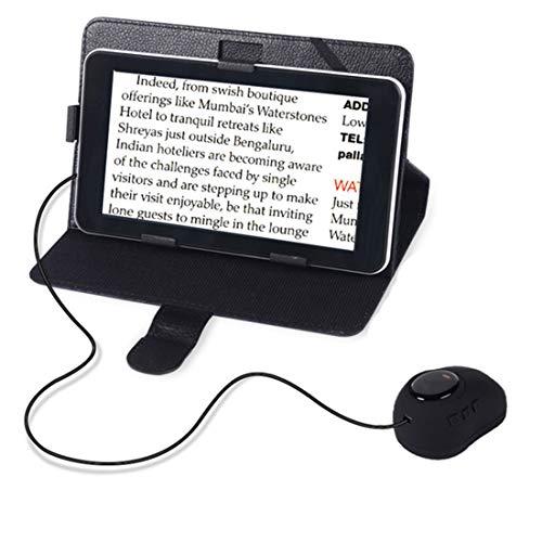 LLC-POWER 7,0-Zoll-LCD-Videolupe Mit Maus, 60X Zoom Elektronische Visuelle Darstellung, Mehrere Farbmodi, Standbild, Für Low Vision, Farbenblindheit, Senioren Lesen