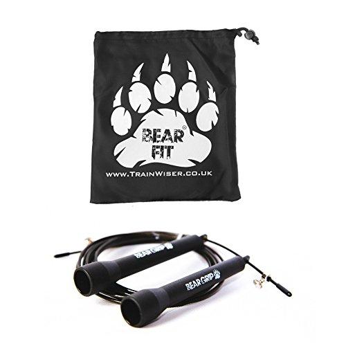 Bear Grip - Best Skipping Speed Jump Rope, Adjustable