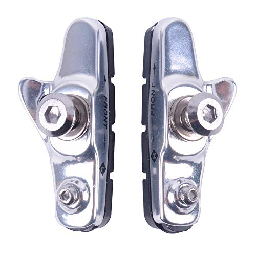 BFHCVDF Durable Use Light-Weight Road Bike Folding Bicycle Parts Brake Shoes Pads