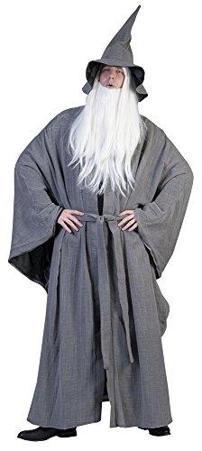 Zauberer Gandalf Kostüm für Herren (Der Hobbit Erwachsenen Gandalf Hut)