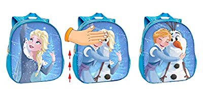 Disney Frozen Mochila Infantil, 30 Cm, Azul de Disney