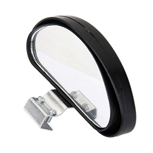 Rétroviseur Extérieur Voiture Auto Miroir Large Angle De Vue Noir