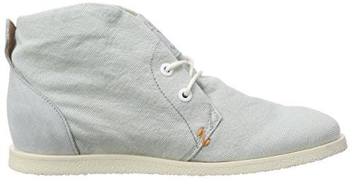 Hub Damen Buckie Washed Canvas Derby Blau (ice flow/wht 068)