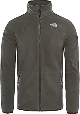 The North Face M 100 GLACIER FULL Z Grape Leaf, Jacke von The North Face - Outdoor Shop