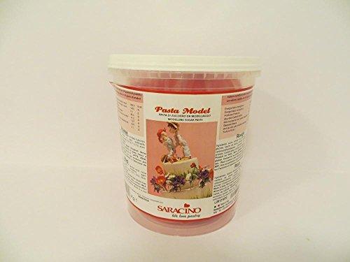 Modellierpaste Saracino 1 kg, rot