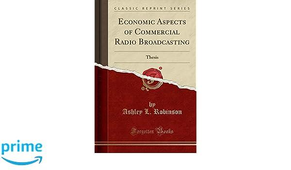 Buy Economic Aspects of Commercial Radio Broadcasting