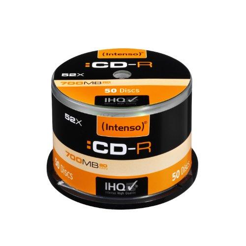 Intenso CD-R 80 700MB - Confezione da 50
