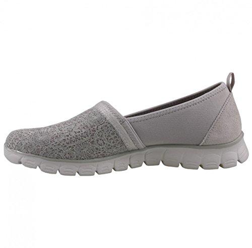 Skechers Damen Ez Flex 3.0-Quick Escapade Slip on Sneaker, Blau (Navy), 41 EU