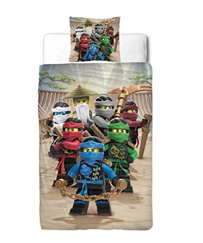Character World Lego Ninjago Cama Infantil Franela/2Piezas