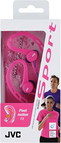 JVC HA-ECX20-P-E - Auriculares de Clip, Color Rosa
