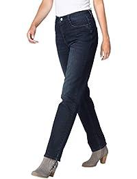 MAC Angela Damen Jeans Hose 0392l524090 D248 P, Größe:W40