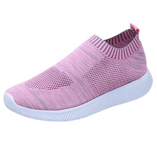 Damen Laufschuhe Sneaker Sport Laufen Mesh Outdoor Mesh Einfarbig Sportschuhe Turnschuhe Freizeitschuhe Schuhe Wanderschuhe Turnschuhe