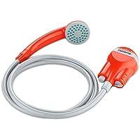 Suaoki Portable Camping Douche batterie avec batterie rechargeable Distincts, pomme de douche, 1.8 m Hose, câble USB et pompe à eau pour extérieur de voyage de voiture à laver Pop Up Tente de confidentialité