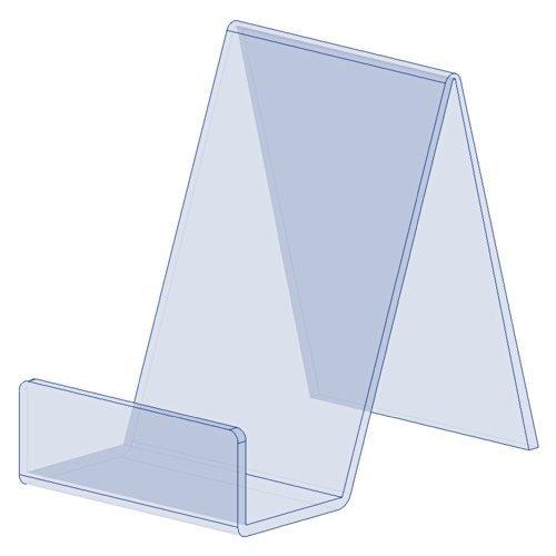 Displaypro–Marcos 5x pequeño acrílico transparente función atril, para sujetar libros, teléfonos, hondos y más.–envío gratuito.