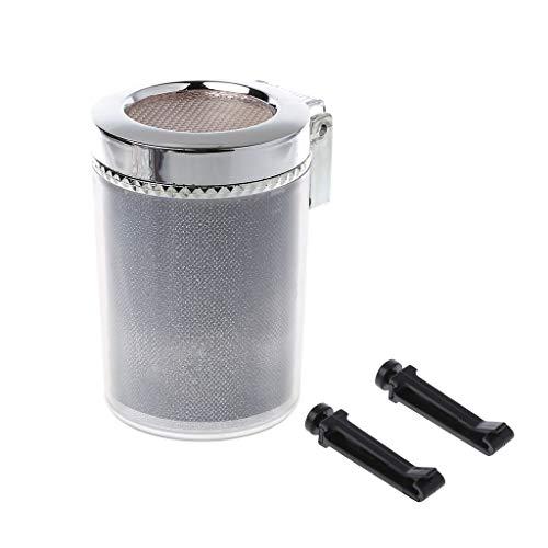 Wanfor Auto Aschenbecher mit LED Licht Zigarre Zigarre Aschenbecher Behälter Smoke Asche Zylinder Smoke Becherhalter Aufbewahrungsbecher -